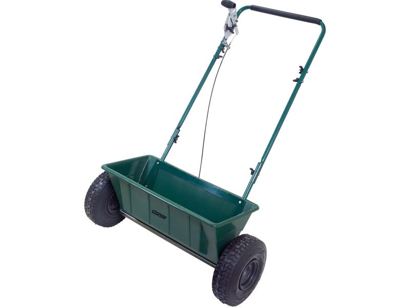 Stocker carrello spandiconcime a getto 60 Litri Cod.3907